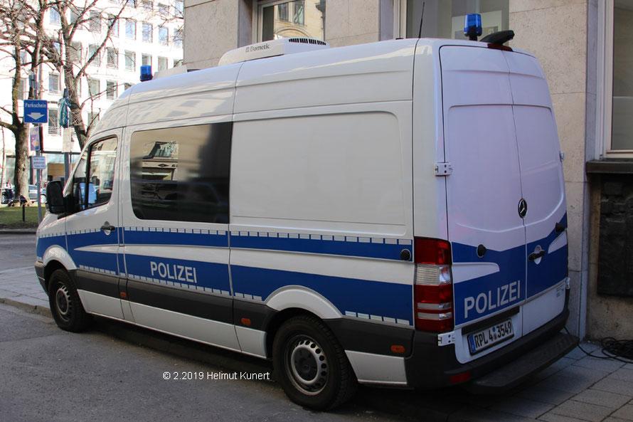 Führungsfahrzeug aus Rheinland-Pfalz