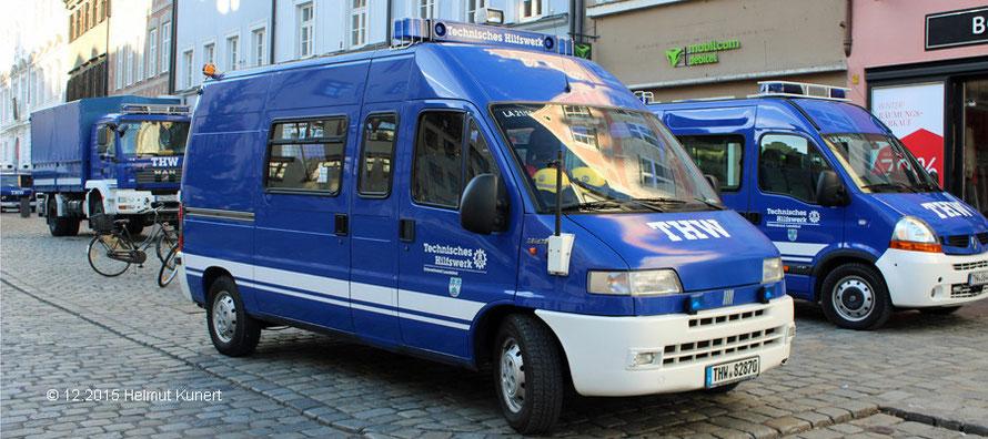 Fahrzeuge der Ortsverbände Landshut und Ergolding
