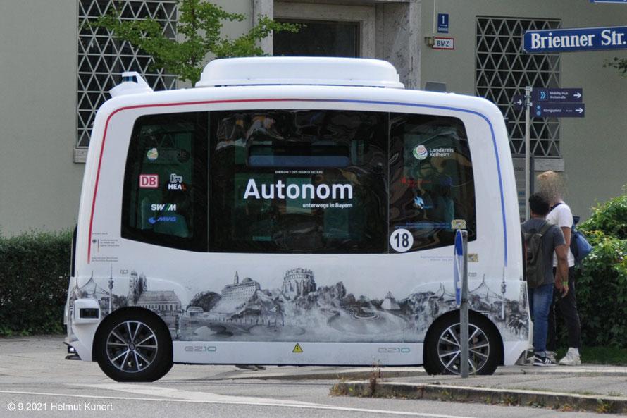 Noch sehr langsam Autonom unterwegs!