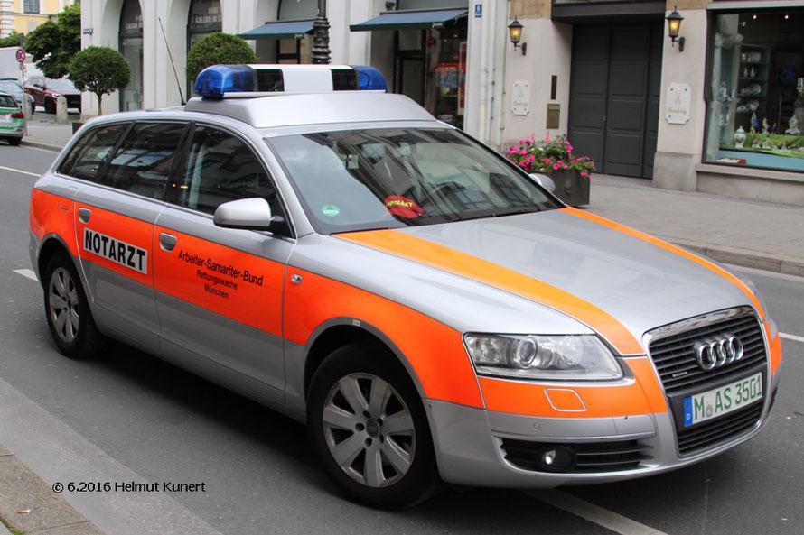 ASB mit Audi-Quattro heute mal als NEF!