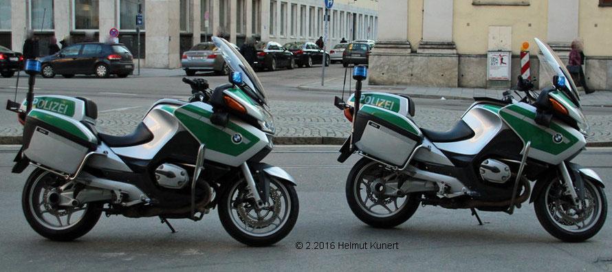 Zur Begleitung der Staatsgäste bis aus Würzburg angereist.