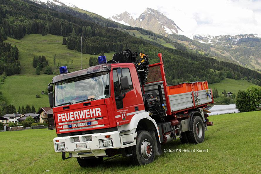 Im Werbeeinsatz für 2021 in Bruneck / Südtirol