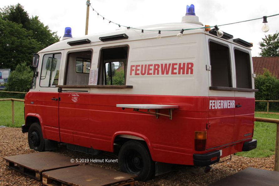 Durstlöschmobil in seltenster Ausführung!