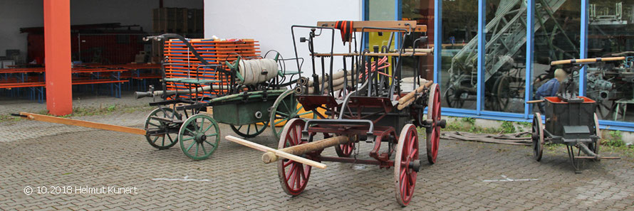 Die drei ältesten angereisten Fahrzeuge wurden auch vorgeführt.