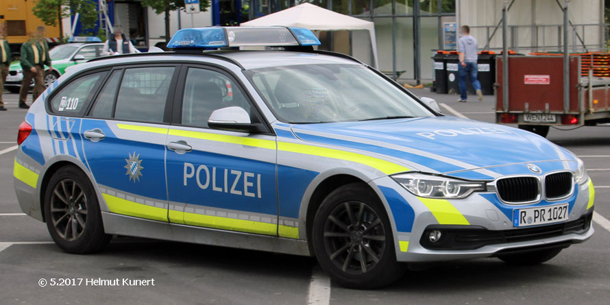 """Normaler"" Streifenwagen."