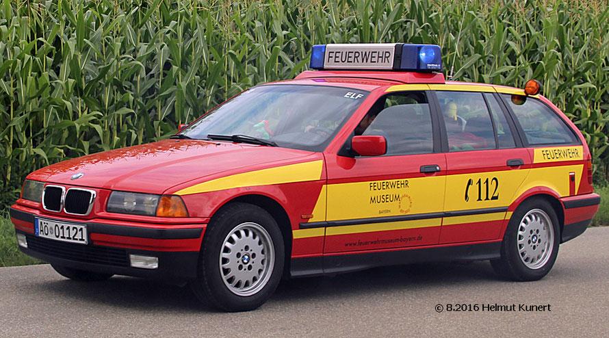 Das Feuerwehrmuseum Waldkraiburg ist auch da.