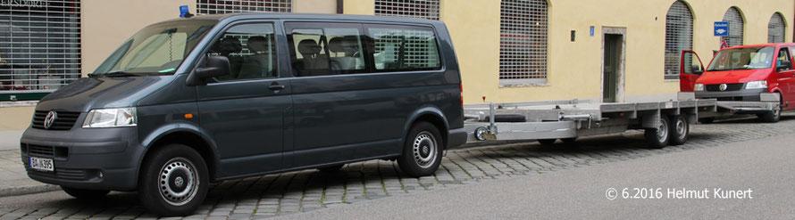 Zur 60-Jahr Feier der bay. Polizei in München konnte ich erstmals dieses Gespann für den Simulator feststellen. Der Simulator ist jetzt auch in Eichstätt untergebracht.