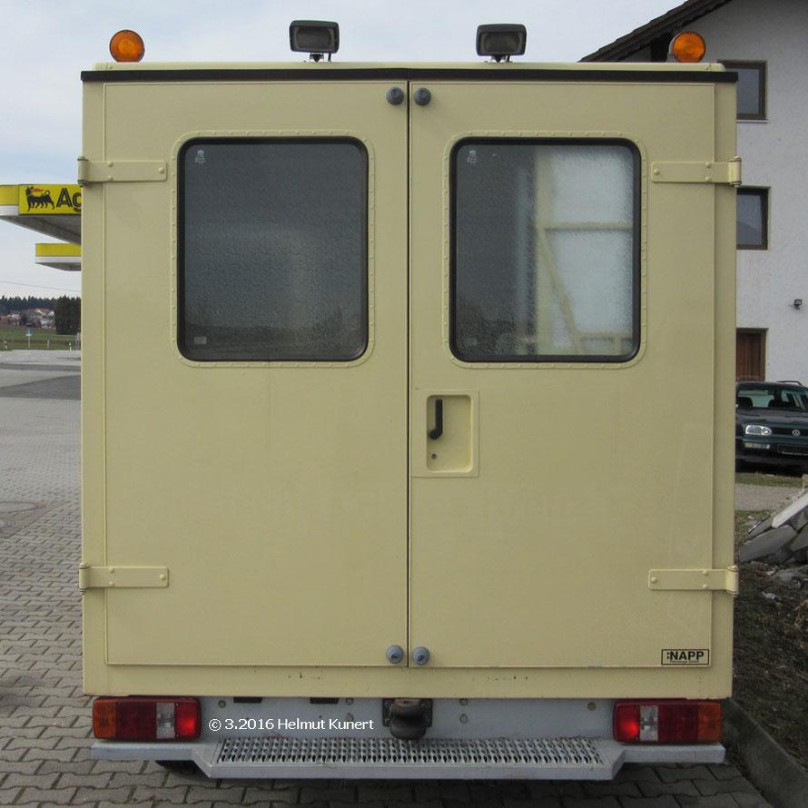 NAPP Fahrzeuge GmbH = Kofferaufbauhersteller.