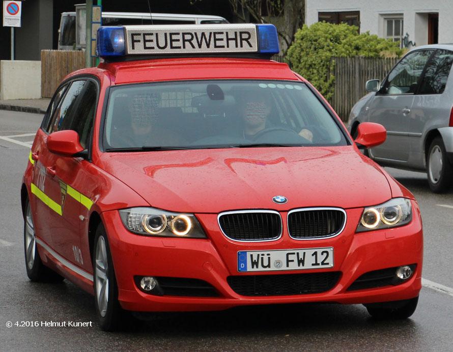 10/3 der Feuerwehrschule in Würzburg