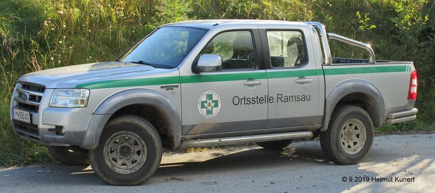 gesehen in Ramsau am Dachstein, Steiermark. Fahrzeug hat aber Tiroler Kfz.-Kennzeichen!