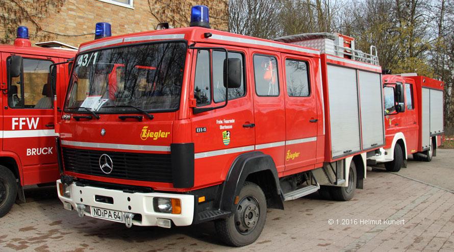 Die großartige Organisation braucht auch Unterstützung von der Feuerwehr.