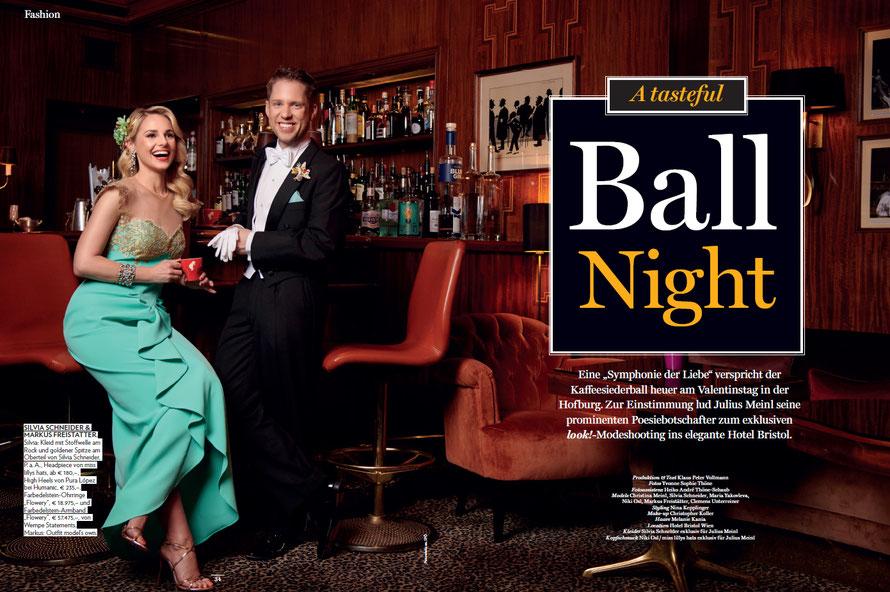 Modefotografin aus Kassel fotografiert Silvia Schneider und Markus Freistätter für das österreichische Look!-Magazin