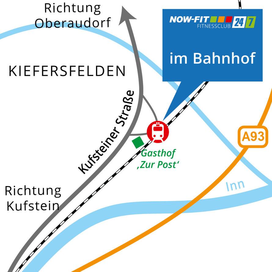 Fitnesscenter am Bahnhof in Kiefersfelden