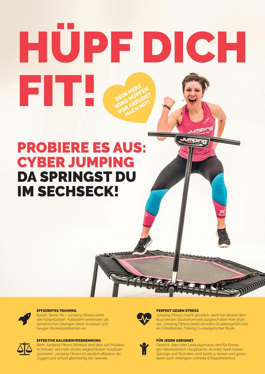 Jumping Fitness in Salzburg Kufstein und Raubling