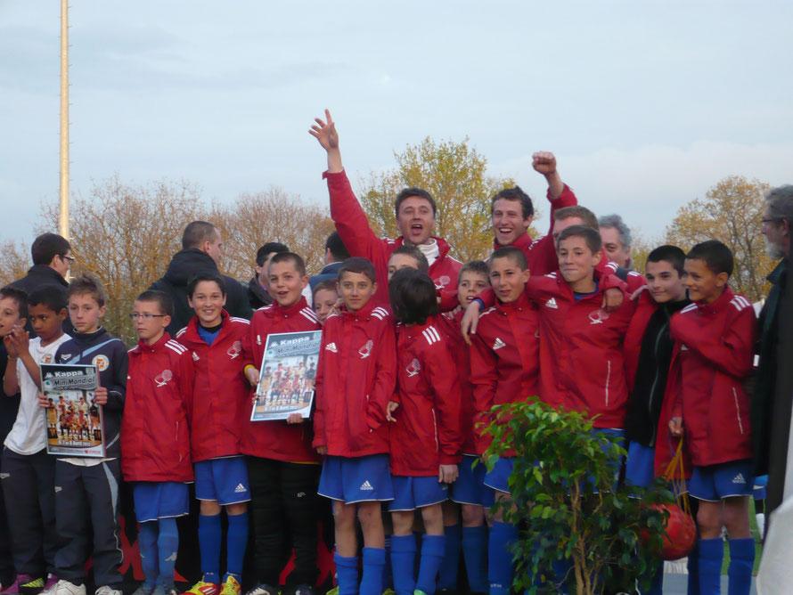 1ère participation avec l'Eveil Philbertin Football, au tournoi U13 (à l'époque encore 2 tournois : U11 et U13)