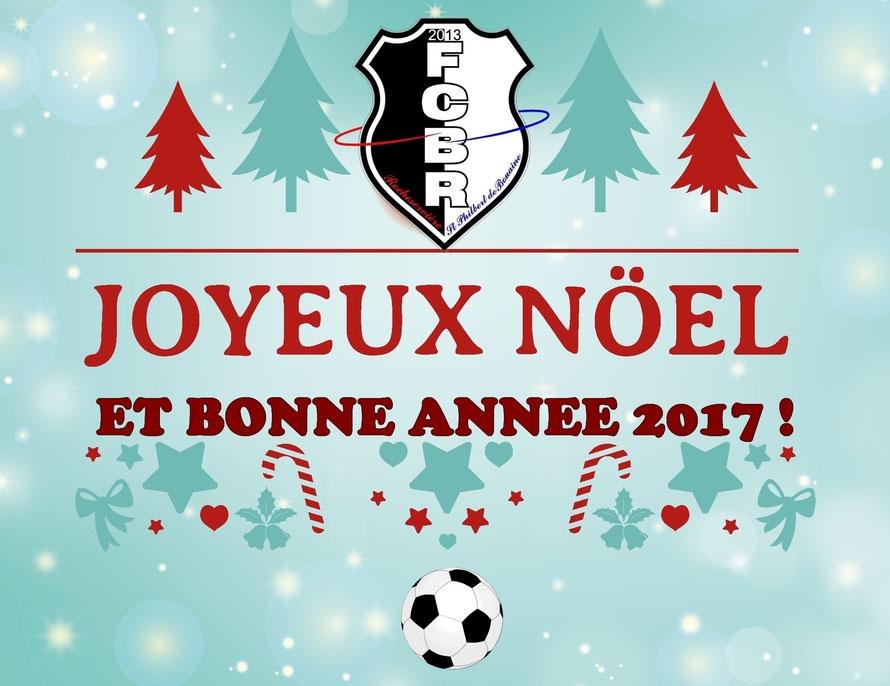 Le Conseil d'administration du FCBR vous souhaite de bonnes fêtes de fin d'année !