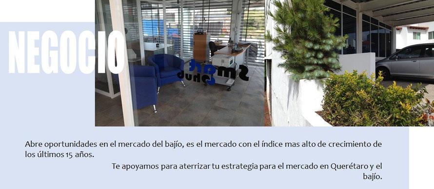 Landing negocios Querétaro