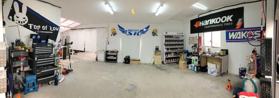 garage sk garagesk 大分 大分市 カスタム カスタムショップ 車検整備 鈑金塗装