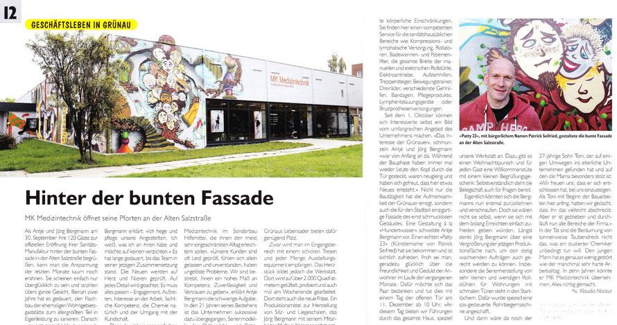 PAT23 - Fassaden Gestaltung Leipzig Grünau - Dreidimensional 3D Ebenen Plastisch Installationen Wandmalerei
