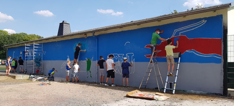 PAT23 Graffiti Workshop Leipzig - Markranstädt