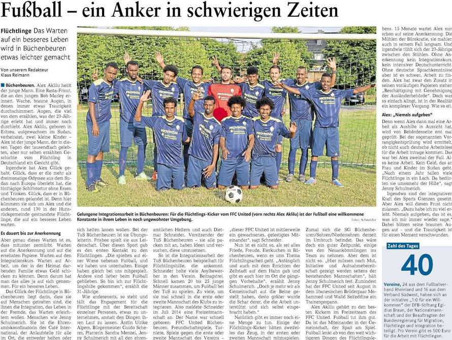 Rhein-Hunsrück-Zeitung 27.10.2015