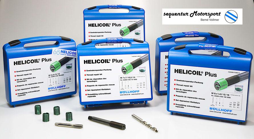 Helicoil Reparaturpackung für defekte Gewinde
