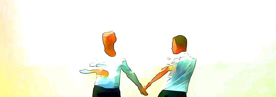 Konflikte zu lösen und Beziehungen zu befrieden ist eine der großen Stärken der Visionspsychologie
