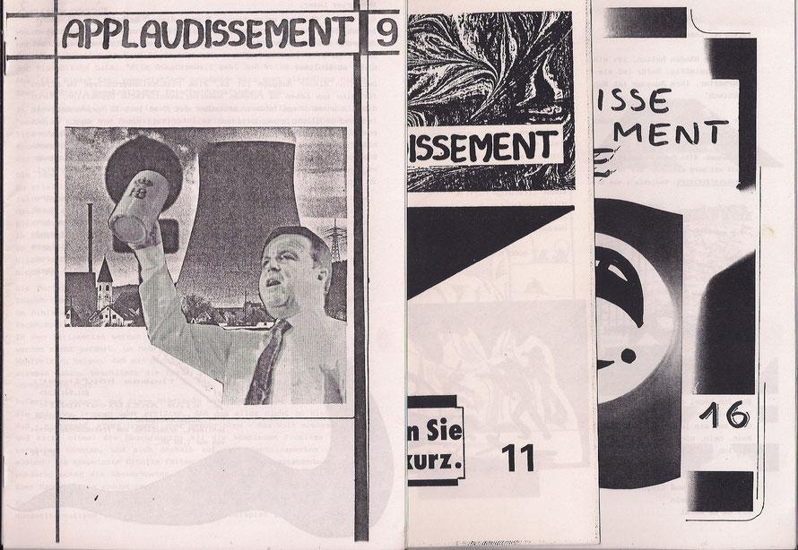 Cover von applaudissement 1990 - 97, erschienen in Regensburg und München