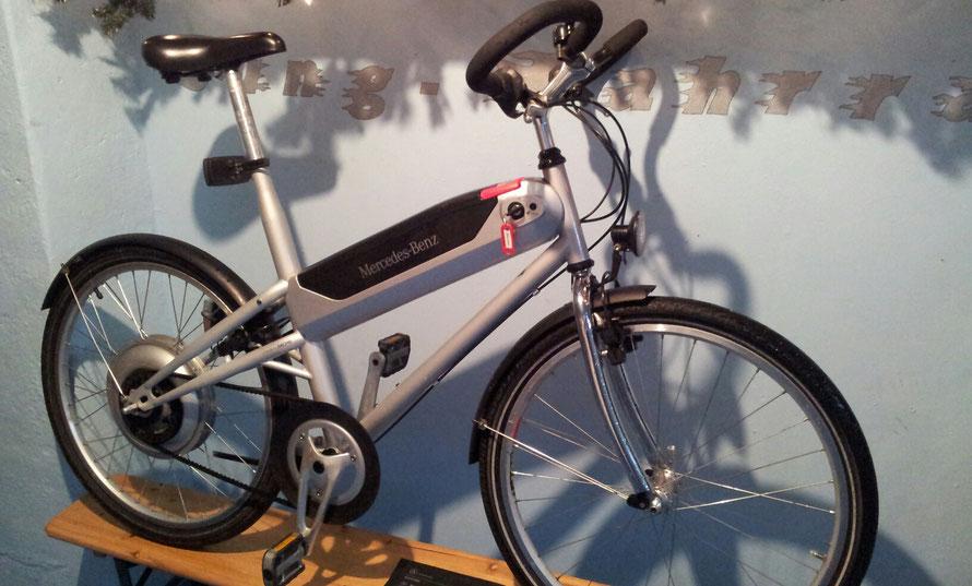 "Mercedes Benz Hybrid Bike (SACHS) - 25 km/h - 3 Gang - 26"""