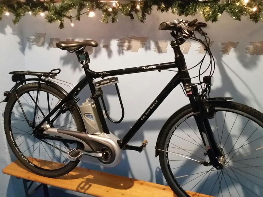 "TAILWIND bike Manufaktur - 25 km/h - RH 57 - 8 Gang - 28"""