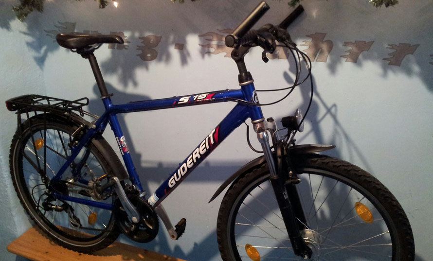 GUDEREIT S15 BIKE SPIRIT - 21 Gang - 26""