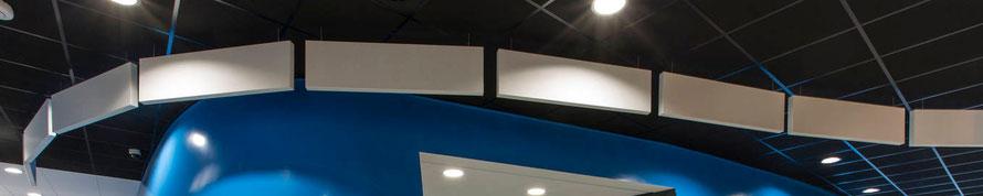 """Акустические экраны Rockfon (Рокфон) - ООО """"АП-Системы"""", г. Казань"""