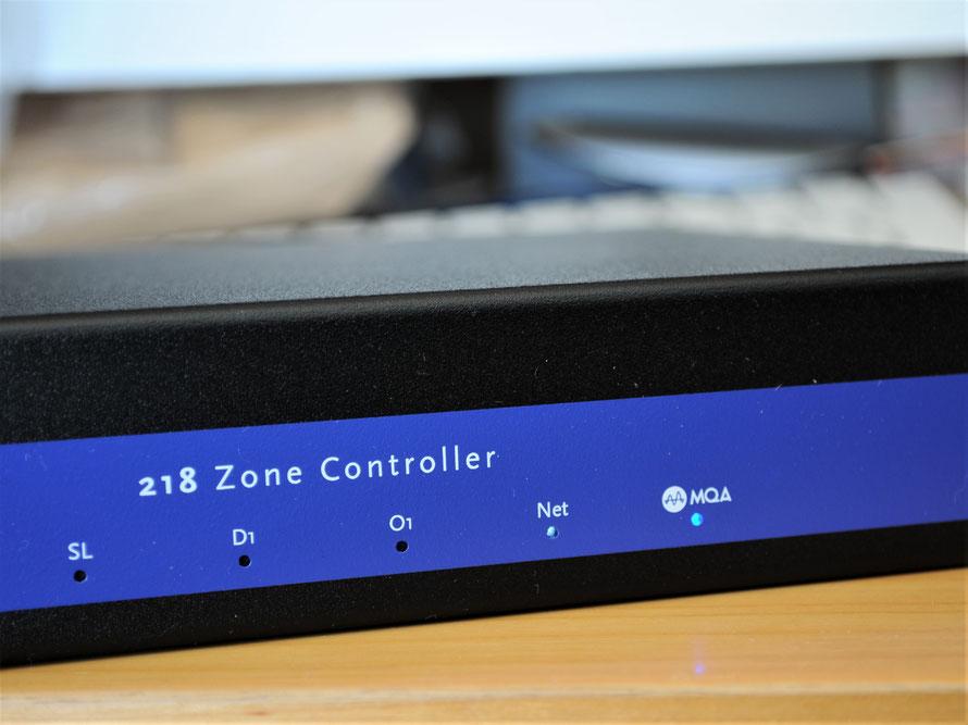 218は音楽再生ソフト「roon tested」のプロダクトでもある。MQAの音楽ファイル再生も快適に楽しめる