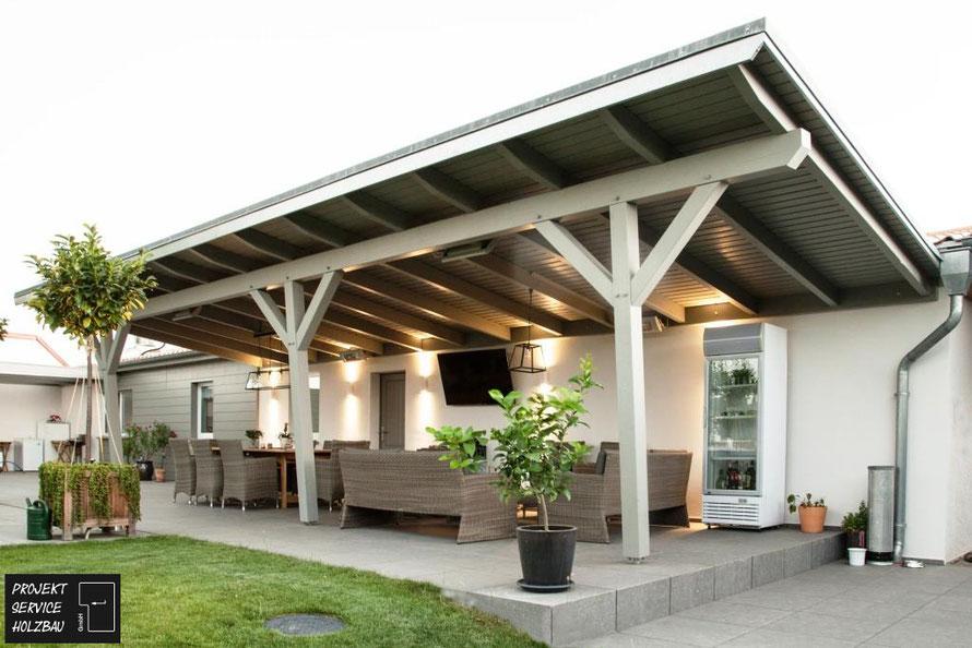 Terrasse Überdachung Design