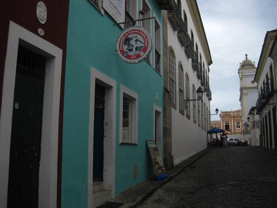 Gebäude in welchem, von Mestre Bimba, die 1. Capoeira Schule gegründet wurde. Salvador da Bahia (Brasilien)