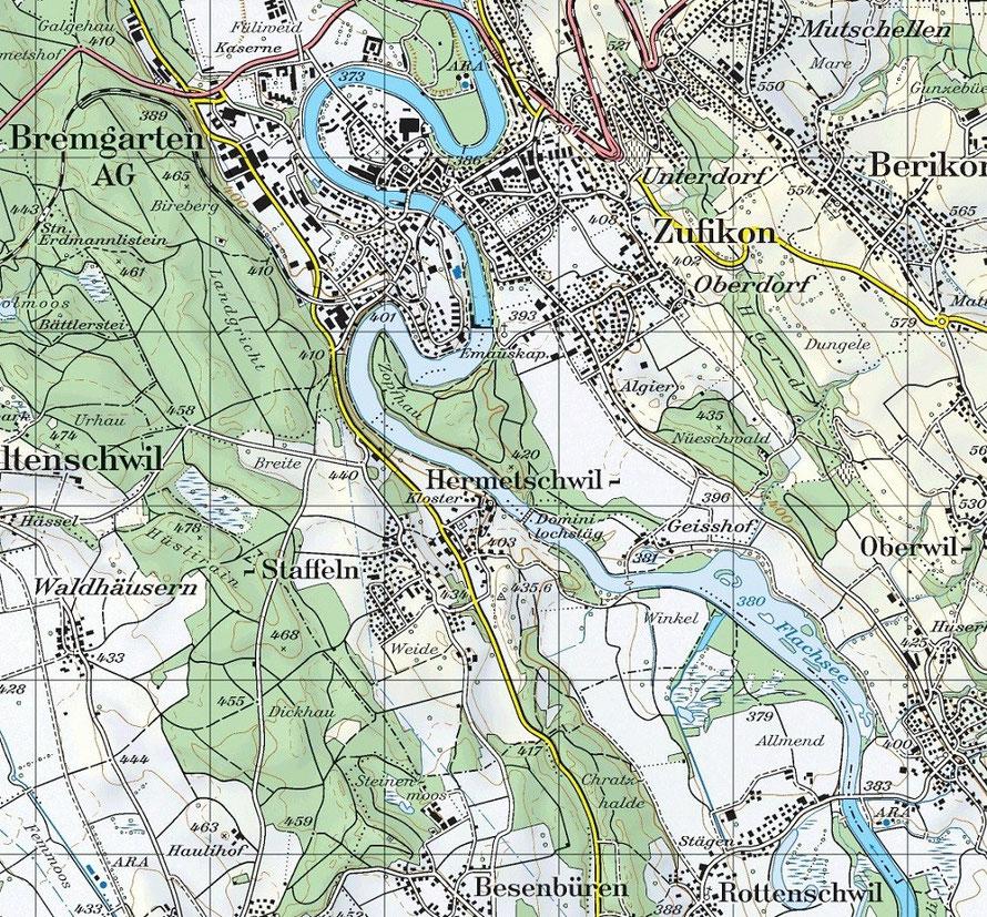 Bundesamt für Landestopografie swisstop, Landeskarte der Schweiz, 2012