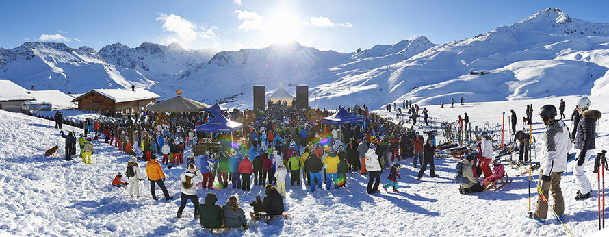 KuhBar Arosa - place to be für Après-Ski