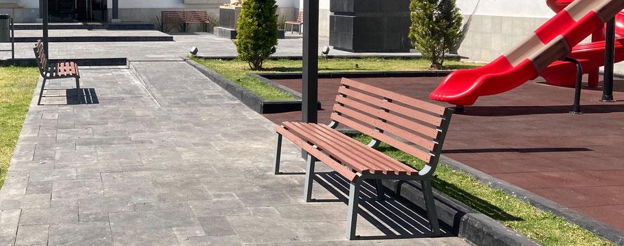 Bancas para parques, jardines centros comerciales. Bancas para exterior. Bancas para interiores