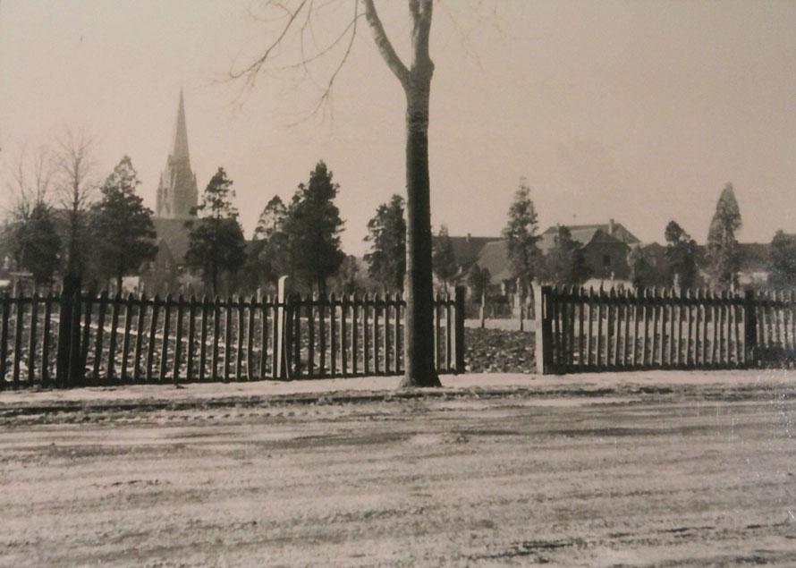 Foto aus dem Jahre 1955/56 - Stadtarchiv Olfen