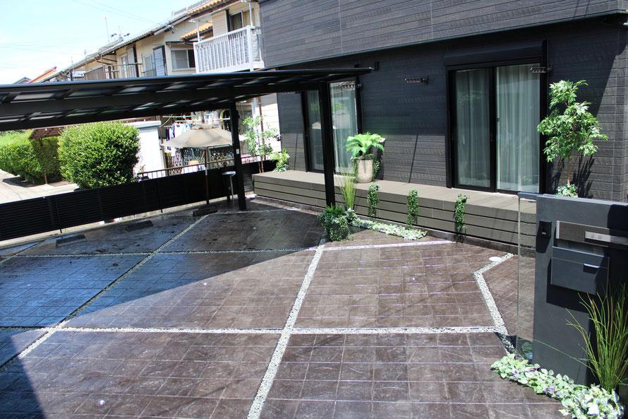 デザインコンクリートスタンプコンクリートファンタジーコンクリートステンシルコンクリートモルタル造形
