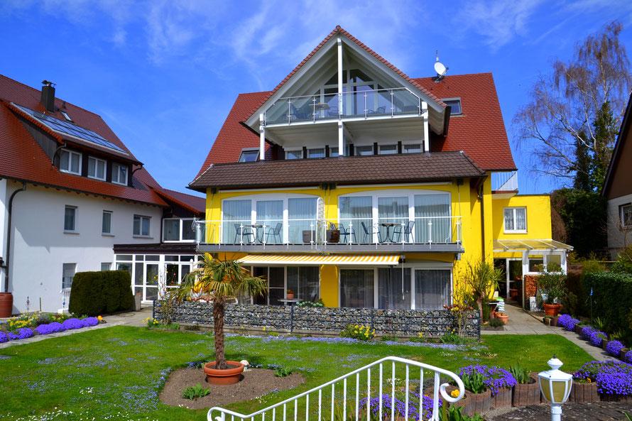 Ferienwohnungen in Hagnau am Bodensee mit Seesicht