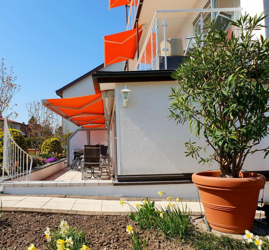 Bild: Terrasse Ferienwohnung 2 im Haus Annette in Hagnau am Bodensee
