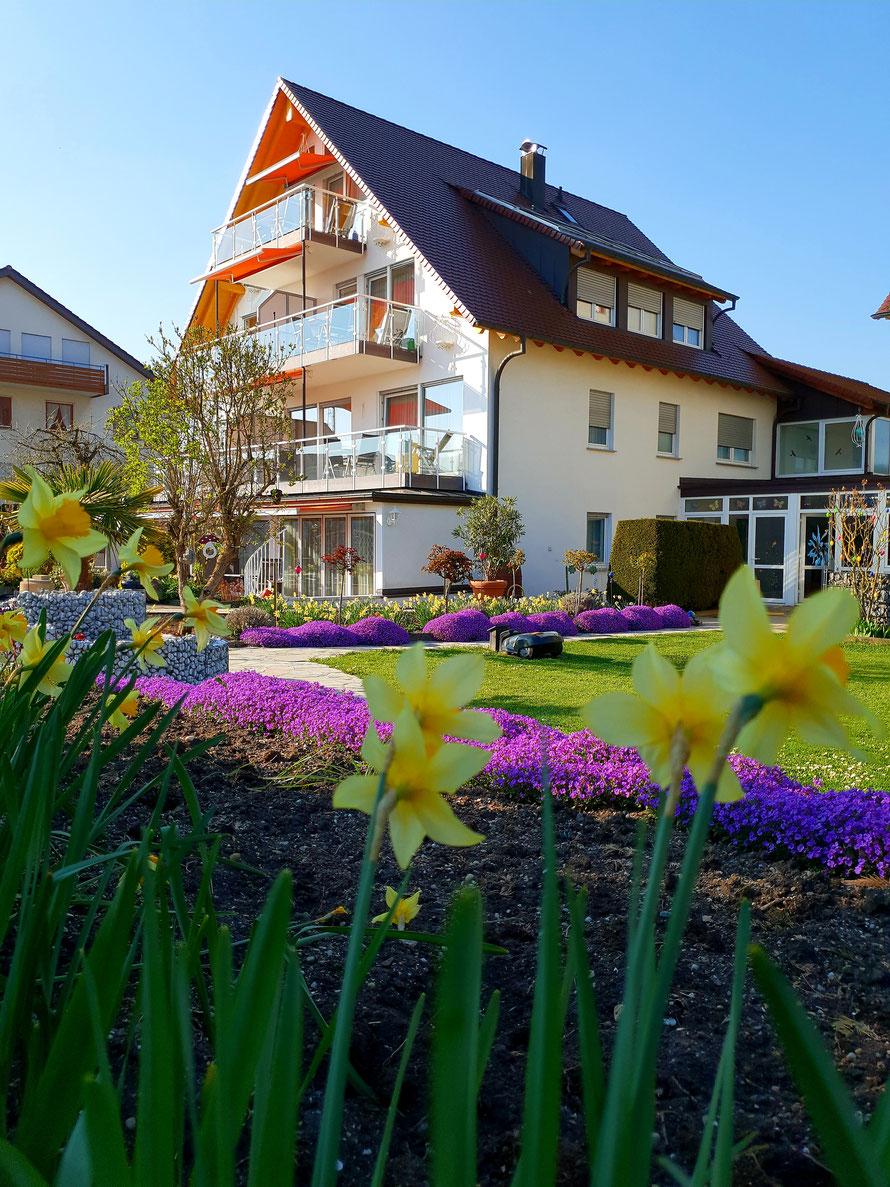 Bild: Haus Annette mit Ferienwohnungen in Hagnau