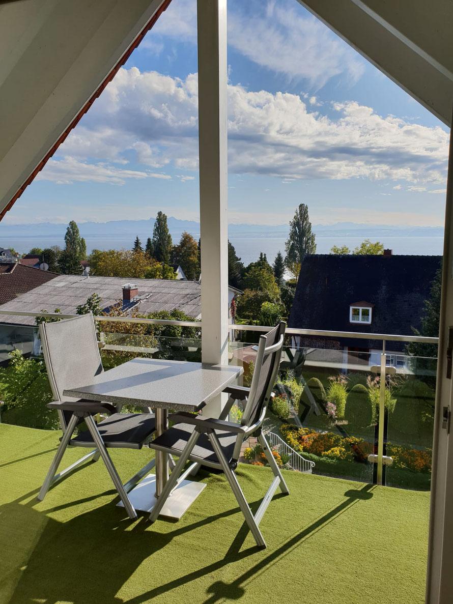 "Bild: Seeblick Fewo 7 im Haus ""Melanie"" in Hagnau am Bodensee"