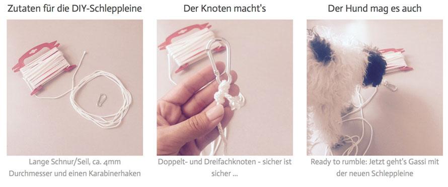 Die Schleppleine - Do(g) it yourself: Einfach & schnell selbstgemacht