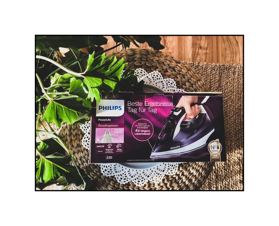 Philips PowerLife Dampfbügeleisen Produkttest
