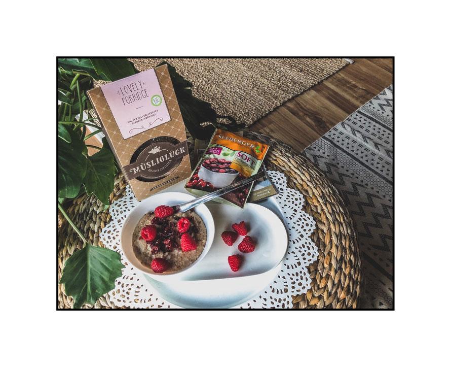 Lovely Porridge von Müsliglück Produkttest