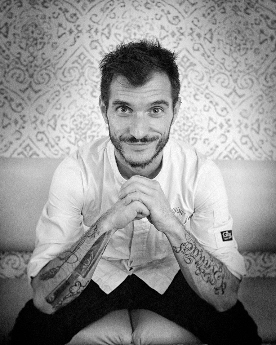 Chef Fran Trigo, AXAT Restaurante