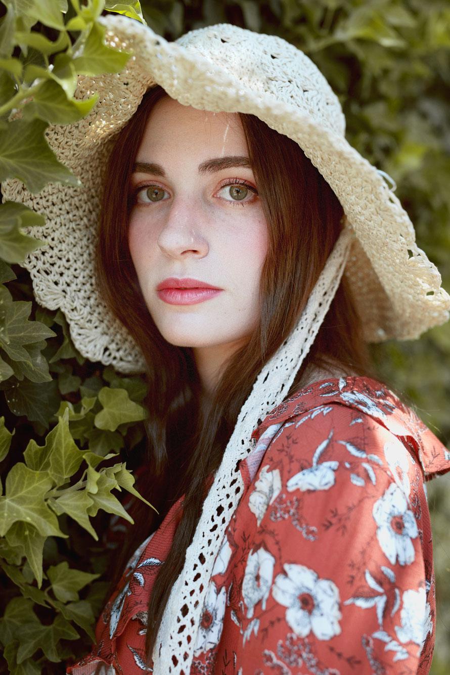 Retrato Moda modelo Claudia