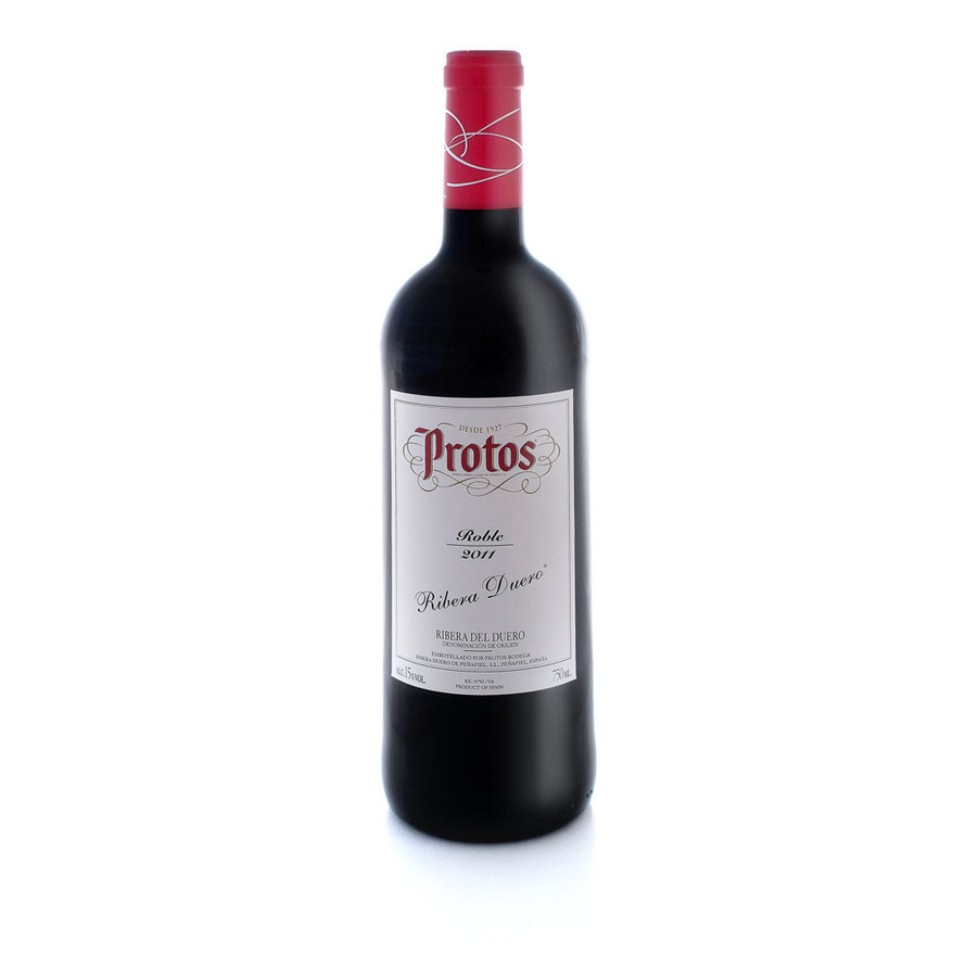 Botella Vino Protos Roble 2011